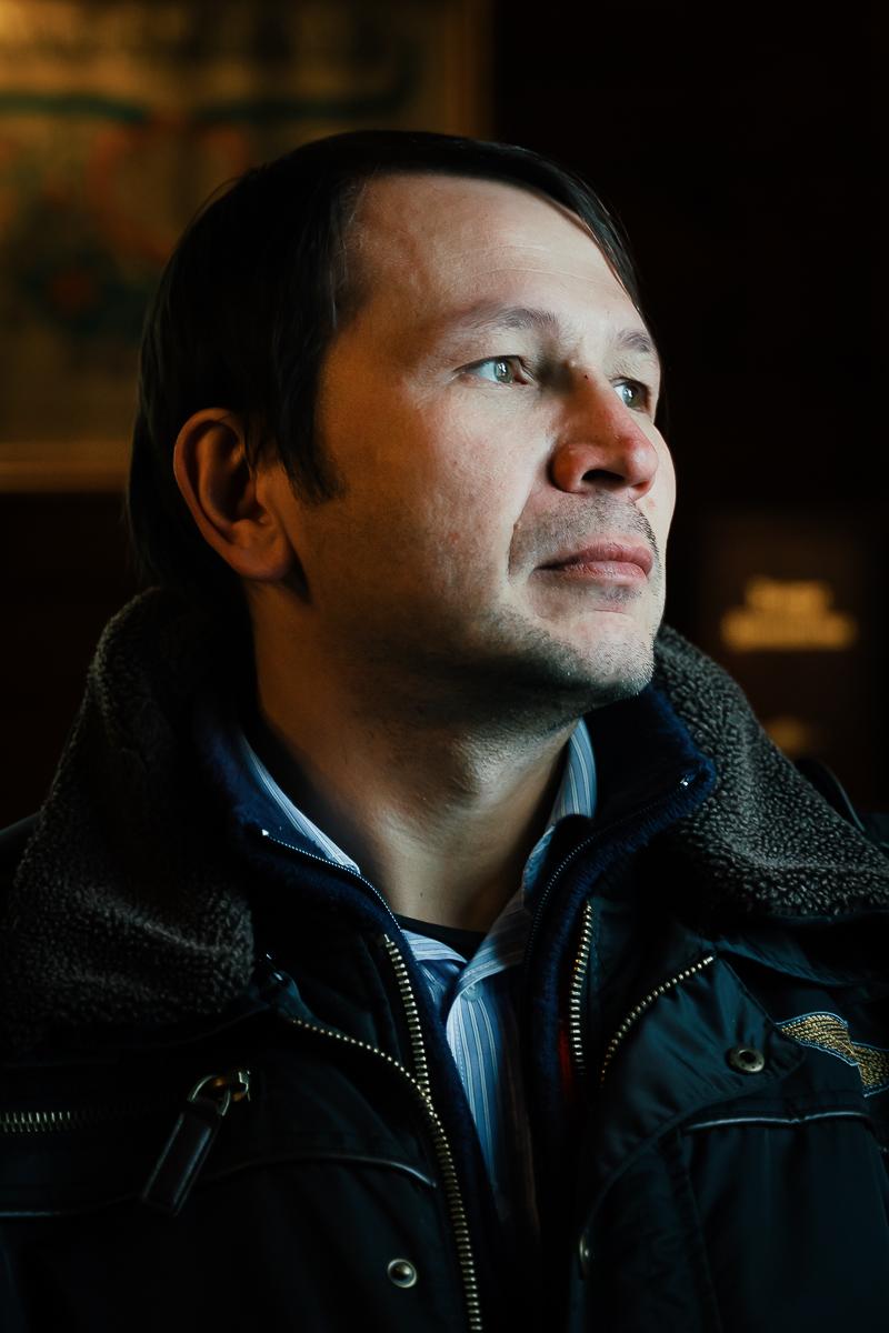 Dżemil Gembicki, caretaker of Kruszyniany Mosque, in Eastern Poland