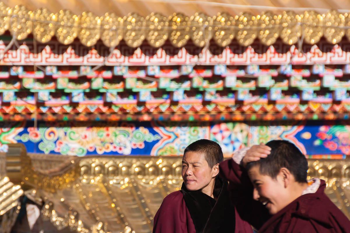 Tibetan Buddhist Nuns in Larung Gar, China