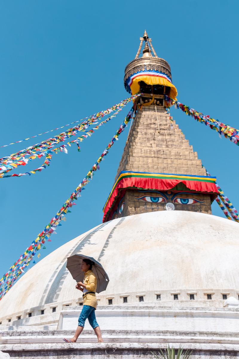 Boudha Stupa, Nepal