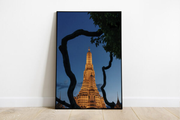 Print of Wat Arun in Bangkok, Thailand