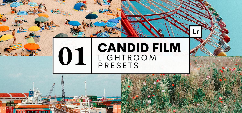 Presets Lightoom Candid Film Sandra Morante